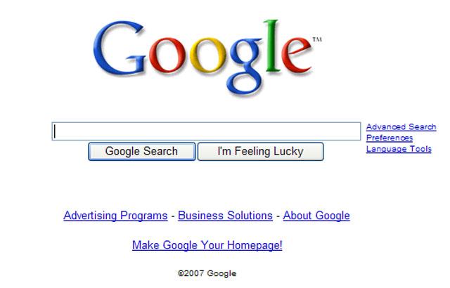 Clean GoogleUI